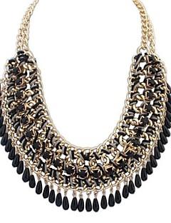 Femme Colliers Déclaration Colliers plastrons Bijoux Alliage Mode Européen bijoux de fantaisie Bijoux Pour Soirée Occasion spéciale