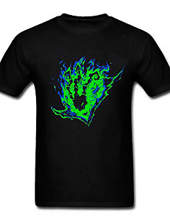 League of Legends LOL Chain Warden(Distortion Of The Reaper) Cotton Short Sleeve Cosplay T-Shirt