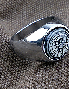 Jewelry Inspired by Fullmetal Alchemist Cosplay Anime Cosplay Accessories Ring Blue Male / Female