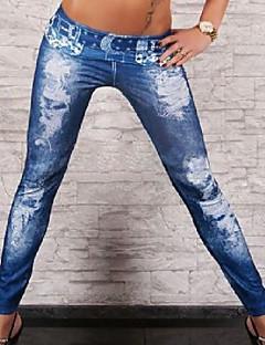 kvinners lmitation cowboy diamant belte hull leggings