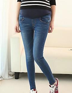 moda maternidade calças abdominal das mulheres