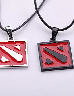 Dota II Symbol Alloy Pendant Cosplay Necklace