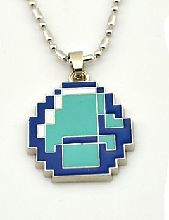Minecraft Licensed Crafting Gaming Diamond Pendant Necklace