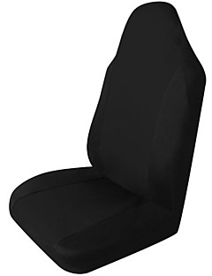 Tirol Universal 1PC Front Car Seat Cover Black Single-piece Packing for Crossovers Sedans