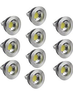 5W GU5.3(MR16) Spot LED 1 COB 400-450 lm Blanc Chaud / Blanc Froid / Blanc Naturel Gradable DC 12 V 10 pièces