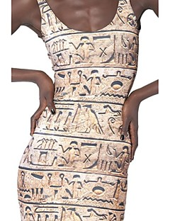 Hieroglyphics Skater Dress Night Club Uniform