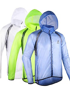 Arsuxeo Cycling Jacket Men's Long Sleeve BikeWaterproof Breathable Windproof Anatomic Design Lightweight Materials Reflective Strips Back