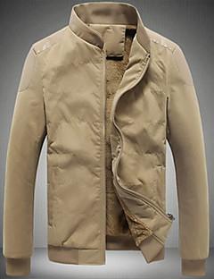 Depp pánské korea styl límec froté kabát