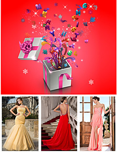 Free Shipping Lucky Bag Contains Three Special Occasion Dresses