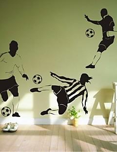 Wall Stickers Vægoverføringsbilleder, moderne fodbold pvc wall stickers