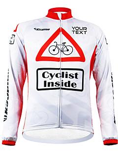 KOOPLUS® Велокофты Жен. / Муж. / унисекс Длинные рукава Велоспорт С защитой от ветра / Водонепроницаемая молния / Пригодно для носки