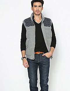 OLIKE Men's Leisure Sleeveless Thermal Jacket