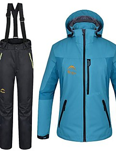 Dames 3-in-1 jacks waterdicht Houd Warm 3-in-1 jacks Fleece jacks / Fleecetruien Jack Damesjack Winterjack Pakken voor Skiën