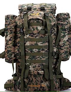Hasky® 80L High Density Windproof Waterproof Tear-Resistant Nylon Long Distance Across  Hiking Bag