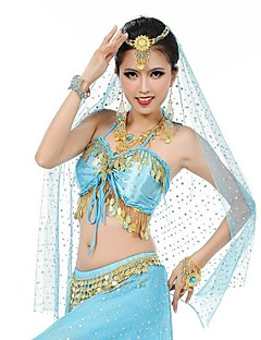 Belly Dance Stage Props Women's Performance / Training Polyester / Metal Tassel(s)