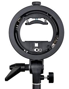 godox® s Typ Speedlite Bracket s-ec mit elinchrom Halterung für Speedlite-Blitz Softbox snoot