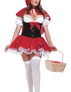 Carnival Circus Little Red Riding Hood Women's Costume
