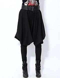 Women's Black Loose/Harem Pants , Casual/Plus Sizes