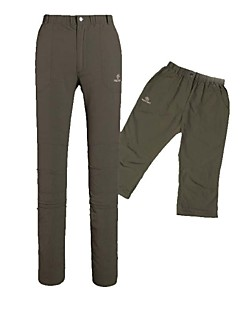 Outdoors Nylon Dark Grey Light Grey Army Green and Khaki Colors Sweat Absorbing Hiking Trousers
