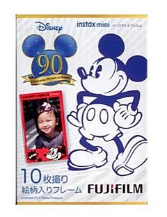 Fujifilm Instax Mini de couleur instantanée - disney 90e