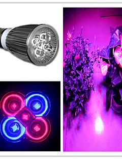 5W E26/E27 Spot LED MR16 5 LED Haute Puissance 500 lm Violet AC 85-265 V