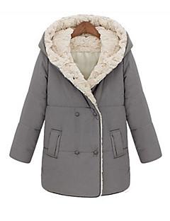 моды случайные свободные теплое пальто TYT женщин