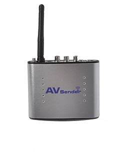 Signstek Pat-220 150m 20m 2.4GHZ 4 Channel Wireless Audio Video AV SD TV Sender Transmitter & Receiver IR Remoter