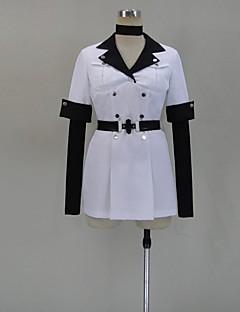 Inspireret af Akame Ga Kill! Ace Anime Cosplay Kostumer Cosplay Kostumer Patchwork Kortærmet Top Strømper Hat Til Kvindelig