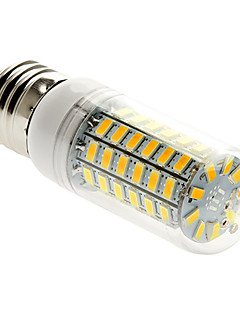 E26/E27 15 W 69 SMD 5730 1500 LM Warm White Corn Bulbs AC 220-240 V