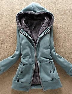 Xiuyi vrouwen dikker hoodie met een laag