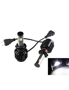 CONQUER® 2PCS 40W H7 High Power Super Brightness LED Headlight Headlamp for Car