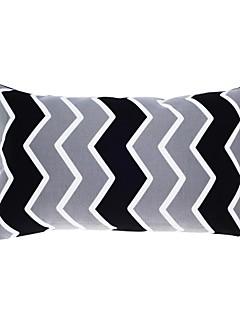 12x20 moderne »de taie d'oreiller rayé rec / oreiller avec insert