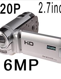 SOUESA 2.7' LCD 24x ZOOM HD 720P Digital Video Camcorder Camera DV DVR NEW