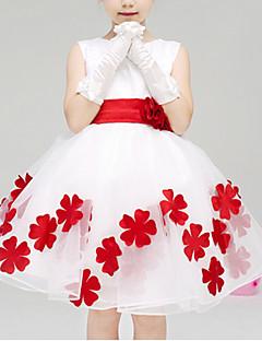 Red Flower Fairy Kids Performance Christmas Costume