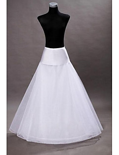 New White Wedding Dress Bridal 1 Hoop  Petticoat Crinoline