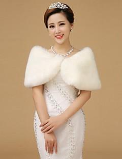 abrigos de piel de los mantones de lana sin mangas whiteshawls lana sin mangas blanco