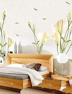etiqueta de la pared en forma de sala de estar / dormitorio lirio ambiental