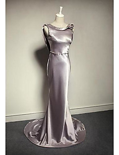 Trumpet/Mermaid Cowl Floor-length Charmeuse Occasion Dresses