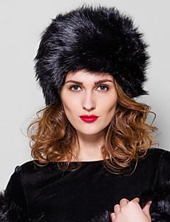 Fur Accessories Fur Hat Faux Fur Fahion Fur Hat(More Colors)