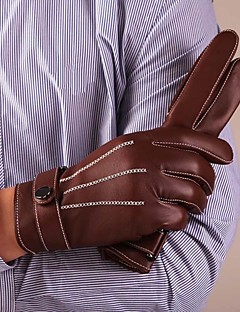 leather gloves mens