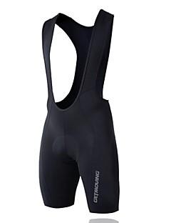 Getmoving® Cykelshorts (bib) Unisex Ærmeløs Cykel Åndbart / Anatomisk design / Komprimering / Anti-skridning / 3D MåtteHagesmæk Shorts /