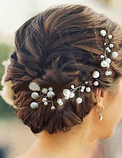 6pcs Pearl Wedding Headpieces Hairpins