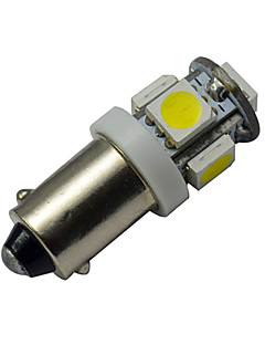 1W BA9S Lichtdekoration 5 SMD 5050 70-100lm lm Kühles Weiß DC 12 V
