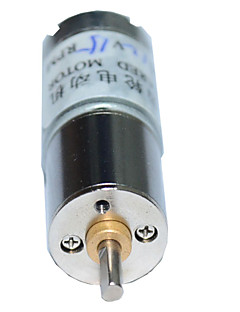 15rpm 16ga (130) 12v 3mm aksel mini dc gearet gearkasse motor for intelligent bil