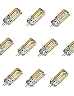 3W G4 LED-lampa T 24 SMD 2835 160-190 lm Varmvit / Kallvit Dimbar DC 12 V 10 st