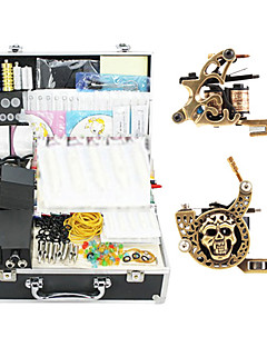 2 Alloy Tattoo Gun Kit for Lining and Shading