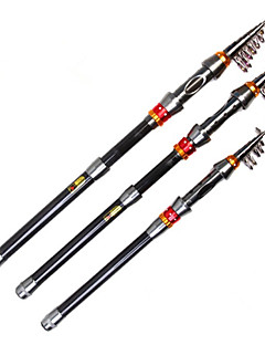 Mini Carbon Tele Rod Spin Pescuit (180/210/240/270/300/330/360 cm)