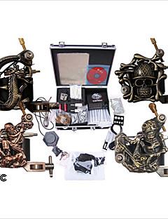 Professional Tattoo Machine Kit Completed Set With 4 Tattoo Gun Machines
