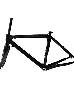 Neasty Brand 700C Full Carbon Fiber Frame and Fork 12K Glossy Carbon Black bicycle frame 52/54/56CM 18C-23C Tire