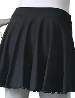 בלט חצאיות בגדי ריקוד נשים בגדי ריקוד ילדים אימון ביצועים כותנה לייקרה חלק 1 חצאית